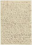 1881 July 9 JM to My dear wife p1