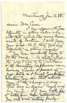 1888 Jan 12 JM to Mrs Carr p1