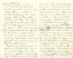 1875 Jul 11 To Mr John Muir p 2 and 3