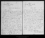Letter from D[aniel] H.Muir to [John Muir], 1895 Sep 26. by D[aniel] H.Muir