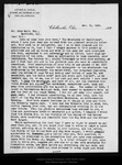 Letter from Luther B. Yaple to John Muir, 1895 Nov 15. by Luther B. Yaple