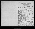 Letter from Cha[rle]s F.Lummis to John Muir, 1895 Sep 20. by Cha[rle]s F.Lummis