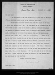 Letter from C.S. Sargent to John Muir, 1896 Dec 3.