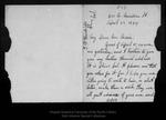 Letter from Eliza S. Hendricks to John Muir, 1894 Apr 23.