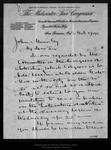 Letter from William B. Harrington to John Muir, 1894 Mar 27.