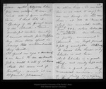 Letter from Janet [Douglass] Moores to John Muir, 1896 Dec 1.