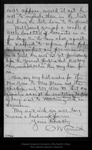 Letter from C[harles] W[alter] Carruth to John Muir, 1894 Jan 9.