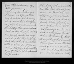 Letter from John Conness to John Muir, 1895 Aug 8. by John Conness