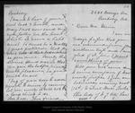 Letter from Katharine [Merrill] Graydon to John Muir, [1896] Sep 18.