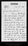 Letter from C[larence] C[lough] Buel to John Muir, 1894 Dec 20.