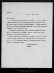 Letter from David S[tarr] Jordan to John Muir, 1896 Feb 25.