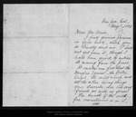 Letter from Helen S. Wright to John Muir, 1895 May 1. by Helen S. Wright