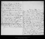 Letter from Annie L. [Muir] to Wanda & Helen [Muir], [ca. 1895] May 30 . by Annie L. [Muir]