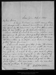 Letter from Chas. H. Allen to John Muir, 1894 Oct 7. by Chas H. Allen