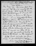Letter from John Muir to [Theodore P .] Lukens, 1896 Dec 25.