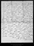 Letter from R.A.Fitzgerald to John Muir, 1895 Sep 22. by R. A. Fitzgerald