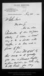 Letter from S. E. Bridgman to John Muir, 1895 Feb 25. by S E. Bridgman
