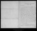 Letter from Henry K. Abbot to John Muir, 1896 Nov 4.