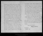 Letter from Henry K. Abbot to John Muir, 1896 Nov 4. by Henry K. Abbot