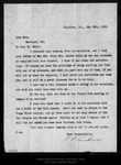 Letter from T[heodore] P. Lukens  to John Muir, 1896 May 28.