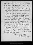 Letter from Bolton A. Brown to John Muir, 1896 Nov 21.