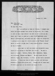 Letter from A[lexander] W. Drake to [Louie Strentzel] Muir, 1895 Jan 17. by A[lexander] W. Drake