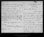 Letter from Katharine [Merrill] Graydon to John Muir, 1896 Jul 27.