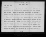 Letter from Geo[rge] Hansen to John Muir, 1896 Sep 28.
