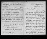 Letter from Katharine M[errill] Graydon to John Muir, 1896 Nov 23.