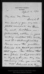 Letter from [Harry Fielding Reid] to John Muir, 1894 Apr 18.