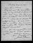 Letter from John Muir to Charlie [A. Keeler], 1899 Sep 18.