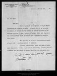 Letter from Barton O. [Aylesworth] to John Muir, 1898 Jan 12. by Barton O. [Aylesworth]