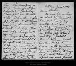 Letter from John Muir to Louie [Muir], 1899 Jun 1.