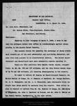 Letter from Binger Hermann to John Muir and Warren Olney, 1899 Mar 10.