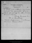 Letter from William C. Bartlett to John Muir, 1899 Jan 7. by William C. Bartlett