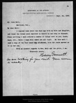 Letter from Henry Gannett to John Muir, 1899 Sep 25. by Henry Gannett
