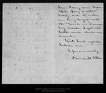 Letter from Francis H. Allen  to John Muir, [ca. 1899].