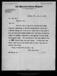 Letter from C[harles] E. Allen to John Muir, 1899 Oct 14.