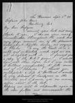 Letter from P. A. Doran to John Muir, 1899 Sep 8. by P A. Doran