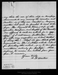 Letter from H[orace] H. Walters to John Muir, 1899 Jan [?].