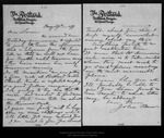 Letter from John Muir to Louie [Muir], 1899 May 29.