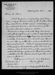 Letter from Charles Mohr to John Muir, 1899 Jan 27.