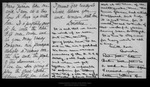 Letter from Dorothea [Draper et al.] to John Muir, 1899 Oct 28. by Dorothea [Draper et al.]
