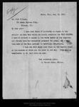 Letter from G. Mercer Adams to Olaf Ellison, 1899 Jan 13. by G Mercer Adams