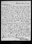 Letter from Benj[amin?] N. Payo to John Muir, 1898 Aug 4. by Benj[amin?] N. Payo