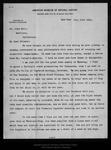 Letter from [Henry Fairfield Osborn] to John Muir, 1899 Jul 17. by [Henry Fairfield Osborn]