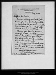 Letter from C. Hart Merriam to John Muir, 1899 May 4.