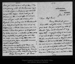 Letter from E. Furse to John Muir, 1905 Jan 16.
