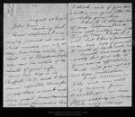 Letter from Emily O. [Pelton] Wilson to John Muir, 1905 Aug 23.