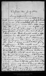 Letter from D. F. Abbott to [John Muir], 1904 Jul 7. by D F. Abbott